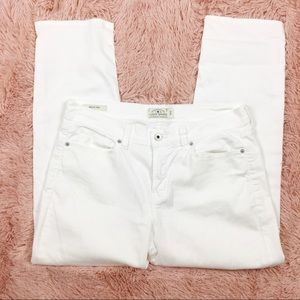 Lucky Brand Jeans - NWOT Lucky Brand White Mollie Crop Stretch Jeans